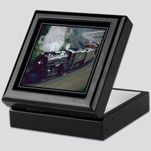 Steam Trains Keepsake Box